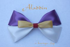 Hey, I found this really awesome Etsy listing at https://www.etsy.com/uk/listing/119231625/aladdin-hair-bow