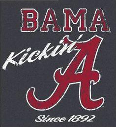 BAMA. Alabama football Roll Tide