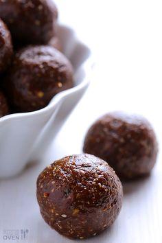 Nutella Energy Bites Recipe | gimmesomeoven.com