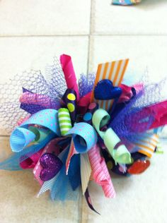 Funky Loopy Hair bow
