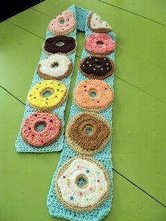 A Dozen Donuts scarf