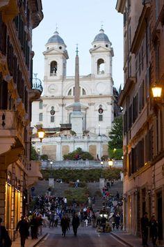The Spanish Steps in Rome.  <3 Travel Journeys  <3 www.travel-journeys.com  <3 www.facebook.com/traveljourney