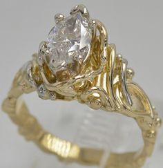 14k Diamond Ring 3299