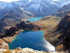 Immagini d'Italia: Il Parco Nazionale del Gran Paradiso, primo parco nazionale istituito in Italia.