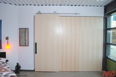 CRT-101-SS Sliding Door Kit is used here in a condo building located in Edmonton, Alberta