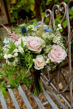 Bouquet Flowers Pink Astible Rose Bride Bridal Industrial Country Rustic Wedding https://www.fullerphotographyweddings.co.uk/