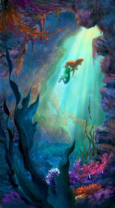 Mysterious Fathoms Below - by Guy Vasilovich<br>Giclee on Canvas