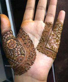 Finger Mehendi Designs, Henna Flower Designs, Simple Arabic Mehndi Designs, Latest Bridal Mehndi Designs, Full Hand Mehndi Designs, Mehndi Design Pictures, Wedding Mehndi Designs, Mehndi Designs For Fingers, Beautiful Mehndi Design