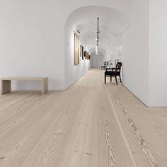 Wide plank flooring at Stadtmuseum Freising - Douglas by Dinesen