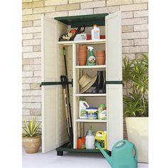need to get the inside of your keter shed a little more organised rh pinterest com keter shed shelf support keter 4x6 shed shelves
