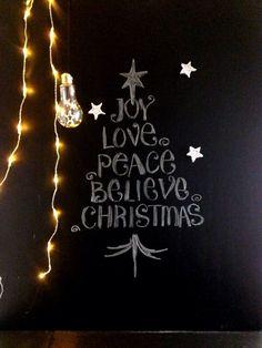 100均×ブラックボードdeちょこっとクリスマス  100均de 海外風インテリア&パーティ&DIY