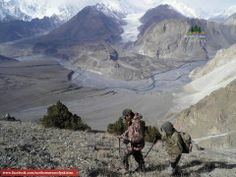 The Great karakoram Glaciers (Near Passu)...