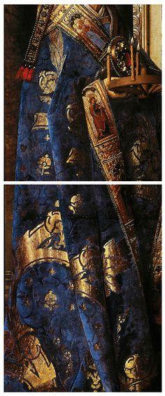 Virgin and Child with Canon van der Paele | Jan Van Eyck (detail) | 1434-36