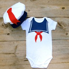 Stay Puft Baby Costume - How cute would this be on some fat rolly polly baby!!