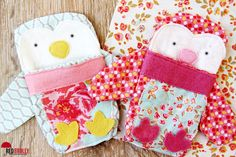 Penguin pockets   Valentine's Gift bags - Red Brolly
