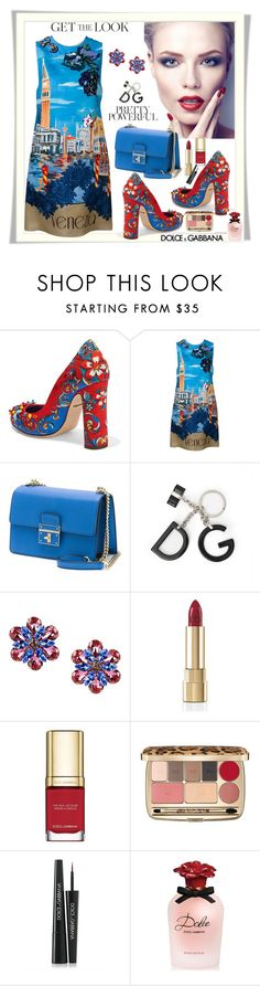 """D&G printed pumps"" by fantasiegirl ❤ liked on Polyvore featuring Dolce&Gabbana"