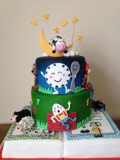 Ty Coffi Cakes Nursery Rhyme cake