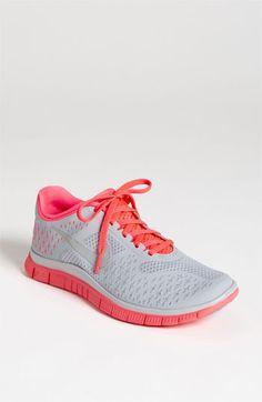 lowest price 3d665 0c35c Nike  Free 4.0 V2  Running Shoe (Women)  90 Hot Punch Grey