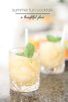 Summer Cocktails: Something for Everyone