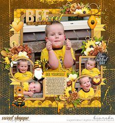 wendyp designs - bee a kind gnomie | kit cindy schneider - set 258: photo focus 117 | templates