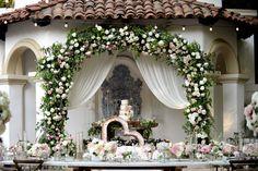 AN INTERTWINED EVENT: CHARMING PINK WEDDING AT RANCHO LAS LOMAS | Intertwined Weddings & Events | Gavin Wade Photography  Romantic Wedding, Blush, OC Wedding