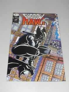 1992 Shadow Hawk #3 Comic Book Free Shipping!!