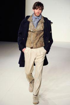 Agnès B. Fall 2012 Menswear Fashion Show