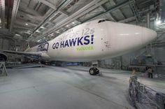 Photos: Boeing rolls out Seahawks plane - Galleries - MyNorthwest.com