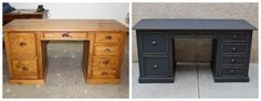 8 Jaw-Dropping Furniture Makeovers - Vintage Furniture Rehabs - Country Living