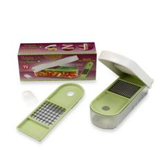 Vidalia Chop Wizard™ - BedBathandBeyond.com We used to own one of these and I absolutely loved it- especially for making guacamole - it made everything so much faster and safer if little ones want to help. We must've lost it in one of the moves - I need to replace it.