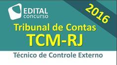 Edital Concurso TCM RJ 2016 - 25/07/2016 - Tribunal de Contas do Rio de ...