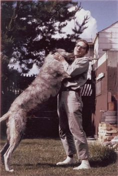 Retronaut - The anthropologist and his favourite dog