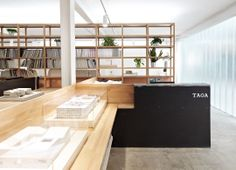 Image 6 of 14 from gallery of TAOA Studio / Tao Lei Architect Studio. Courtesy of Tao Lei Architecture Studio Commercial Interior Design, Office Interior Design, Commercial Interiors, Office Interiors, Architecture Office, Contemporary Architecture, Architecture Design, Minimalist Interior, Minimalist Home