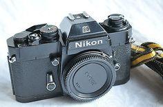 Nikon EL2 Spiegelreflexkamera nur Gehäuse, black