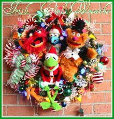 21 Best Muppet Wreaths By Irish Girls Wreaths Images On