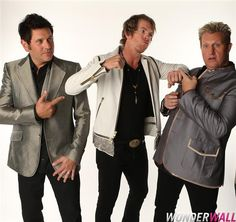 Rascal Flatts goofing around at Wonderwall's 2012 CMT Music Awards  Exclusive Backstage Photo Booth. Say cheese!
