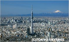 Tokyo Skytree.  Taller than the Tokyo Tower.