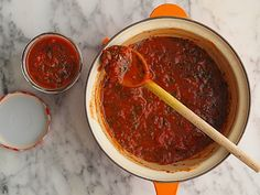 Homemade tomato sauce - now that I've learned that jarred tomato sauce has SO much sugar and salt