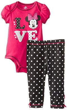 Disney Baby Girls Newborn Minnie Mouse Bodysuit and Pant Set- Love, Red, 6-9 Months Disney http://www.amazon.com/dp/B00KCX37CI/ref=cm_sw_r_pi_dp_f3-Ytb12W70NGADA