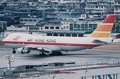 Air Hong Kong B747F at Kai Tak - N.Hirai's Homepage:さよなら香港啓徳機場:香港啓徳機場写真館(香港のエアライン)