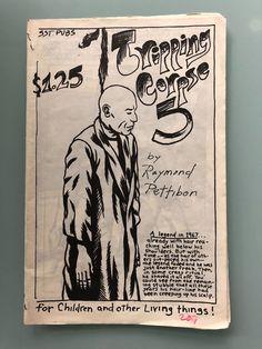 #art RAYMOND PETTIBON - Rare Original, Vintage Punk 'Zine - Tripping Corpse 5 1984 please retweet