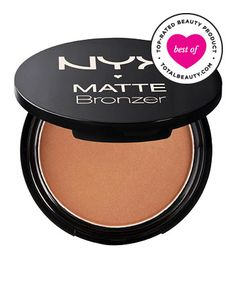 Best Bronzer No. 13: NYX Cosmetics Matte Bronzer, $9 - matte finish, great for contouring