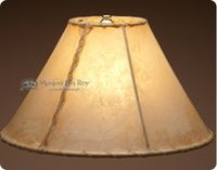 Southwestern Rawhide Lamp Shades Hand Laced For Southwest Western And Rustic Style