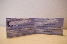Biglietto da visita Elleci Impresa Funebre Event Ticket