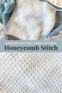 Tunisian Crochet Blanket, Tunisian Crochet Patterns, Crochet Dishcloths, Crochet Blankets, Beginner Crochet Tutorial, Quick Crochet, Free Crochet, Crochet Instructions, Crochet Tutorials