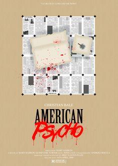 American Psycho - movie poster - Daniel Cullen Leydon