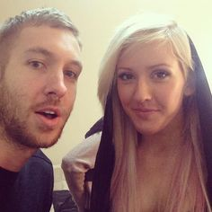 Calvin Harris & Ellie G <3 my 2 favzz