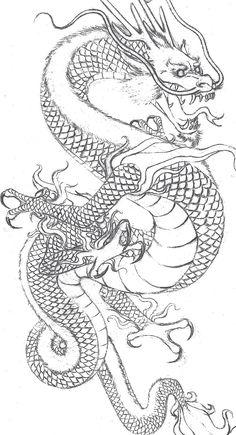 Japanese Dragon Stencils japanese dragon stencil related keywords ...