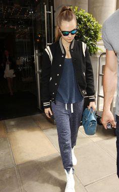 Cara Delevingne Leaves Her Hotel in London 06/29/2015