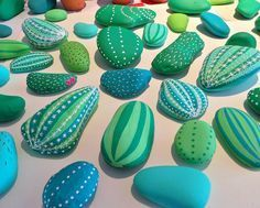 Image result for painted rock cactus